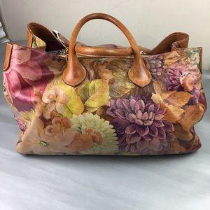 Maurizio Taiuti large floral convertible tote bag